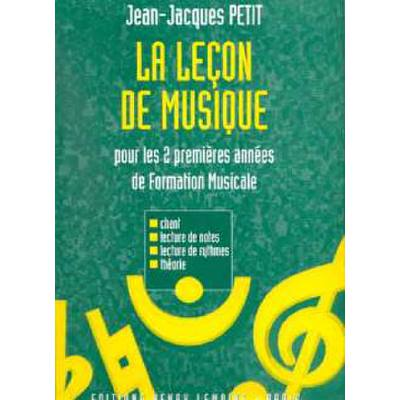 lecon-de-musique-1ere-2eme-annees, 21.50 EUR @ notenbuch-de