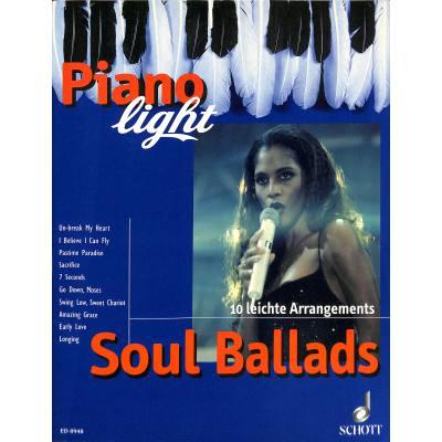 Soul Ballads | 10 leichte Arrangements