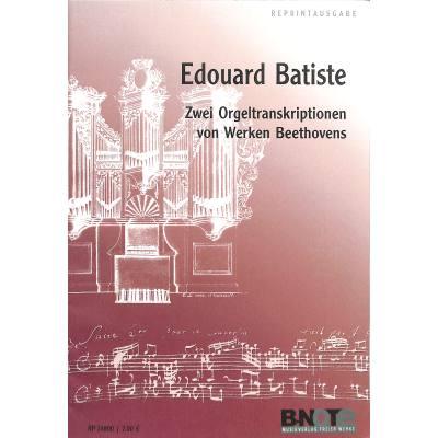 2 Transkriptionen Von Werken Beethovens
