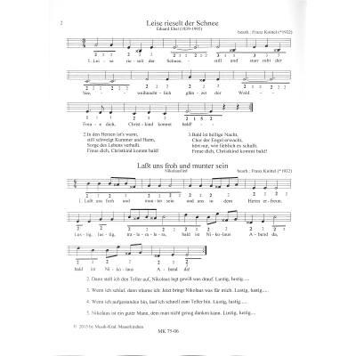 Bekannte Weihnachtslieder.10 Bekannte Weihnachtslieder Notenbuch De