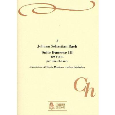 FRANZOESISCHE SUITE 3 BWV 814
