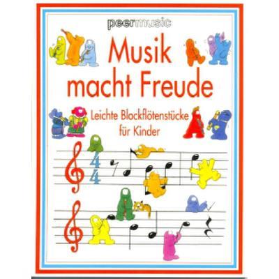 Musik Macht Freude - 100 Leichte Blockfloetenst...