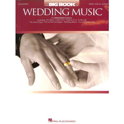 THE BIG BOOK OF LOVE + WEDDING SONGS - 2ND EDITION