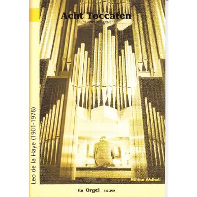 8 Toccaten Fuer Orgel