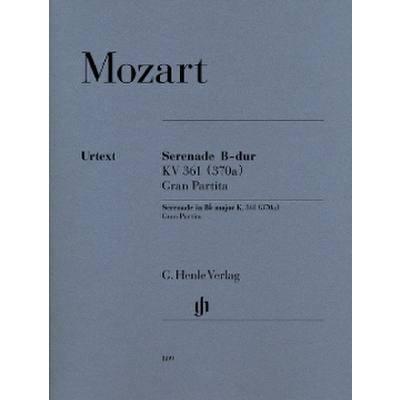 Henle Verlag Mozart W.a. - Gran Partita In Bb Major K. 361 jetztbilligerkaufen