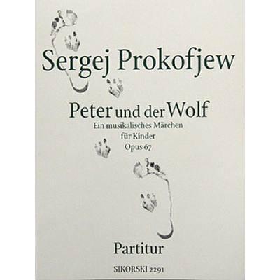 Peter + der Wolf op 67