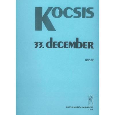 December 33 For Chamber Ensemble