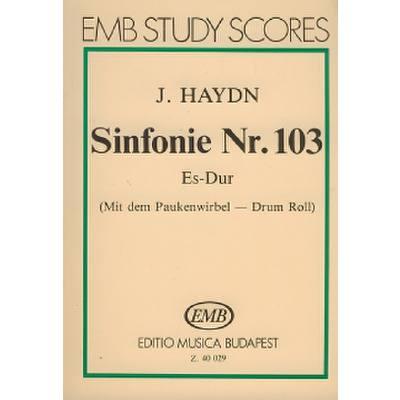 SINFONIE 103 ES-DUR HOB 1/103 (PAUKENWIRBEL)