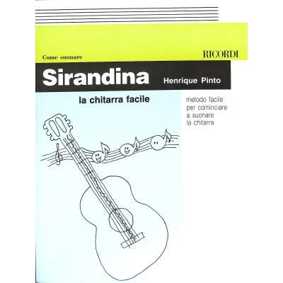 Sirandina metodo facile per suonare la chitarra Come suonare la chitarra