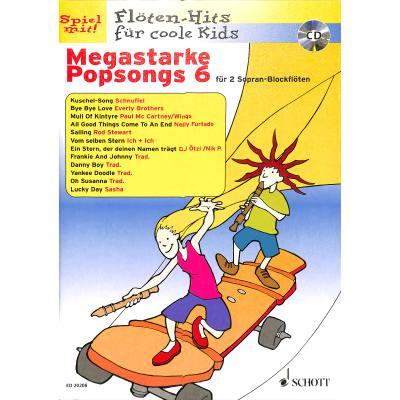 Megastarke Popsongs 6