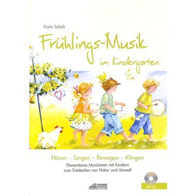 Fruehlings Musik im Kindergarten