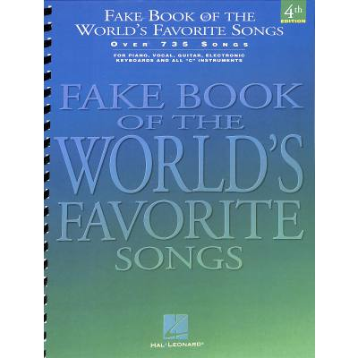 FAKE BOOK OF THE WORLD´S FAVORITE SONGS