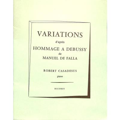 VARIATIONS DE FALLA