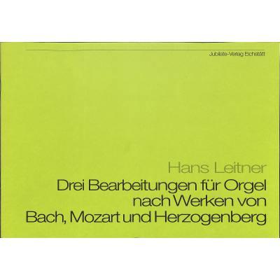 3 Bearbeitungen Fuer Orgel