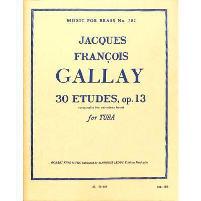 30-etudes-op-13