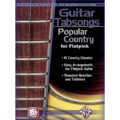 Guitar tabsongs popular Country for flatpick
