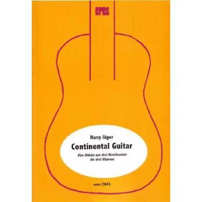 continental-guitar, 15.80 EUR @ notenbuch-de