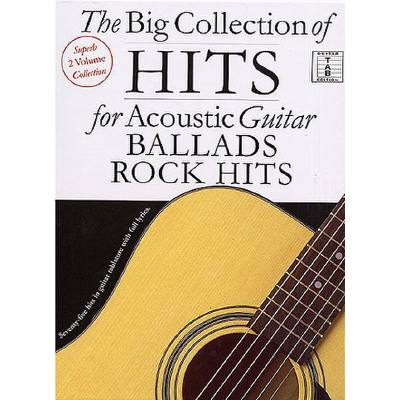 Big collection of hits for acoustic guitar (ballads + Rock hits)
