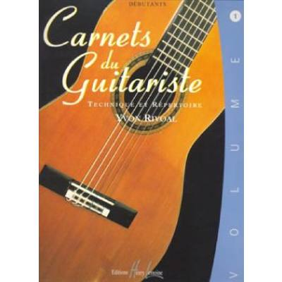 CARNETS DU GUITARISTE 1