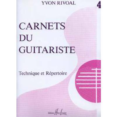 CARNETS DU GUITARISTE 4