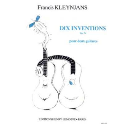 10 Inventionen op 76