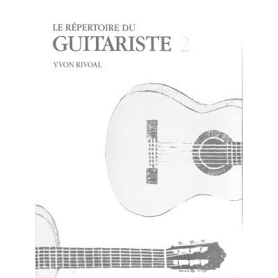 Repertoire du guitariste 2