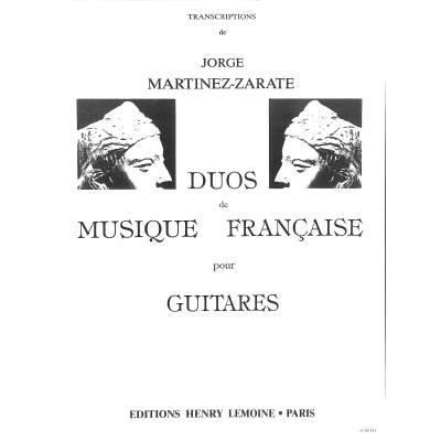 DUOS DE MUSIQUE FRANCAISE