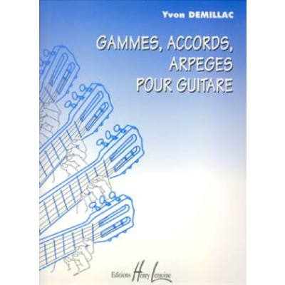 GAMMES ACCORDS ARPEGES POUR LA GUITARE