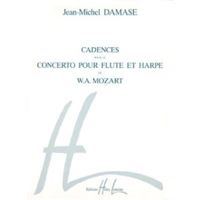 CADENCES DU CONCERTO DE MOZART (FUER FL + HA)