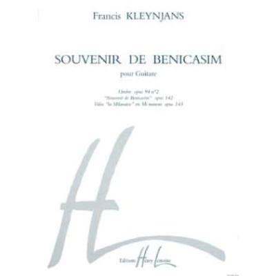 SOUVENIR DE BENICASIM OP 94/2 OP 142 OP 143
