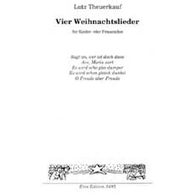 Weihnachtslieder Für Kinderchor Noten.4 Weihnachtslieder
