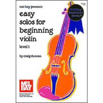 EASY SOLOS FOR BEGINNING VIOLIN 1