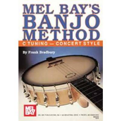 BANJO METHOD - C TUNING CONCERT STYLE