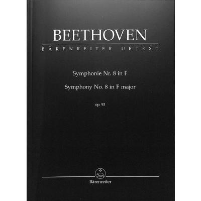 Sinfonie 8 F-Dur op 93