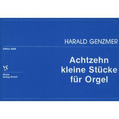 18 Kleine Stuecke Fuer Orgel