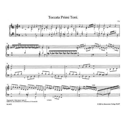 Saemtliche Orgel + Clavierwerke Cplt