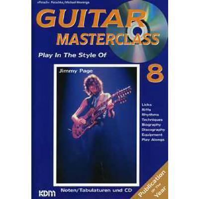 GUITAR MASTERCLASS 8