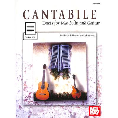CANTABILE - DUETS FOR MANDOLIN + GUITAR