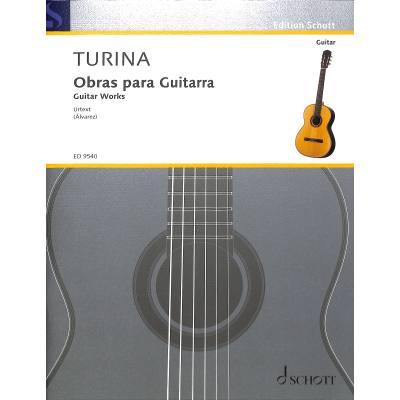 OBRAS PARA GUITARRA - GUITAR WORKS