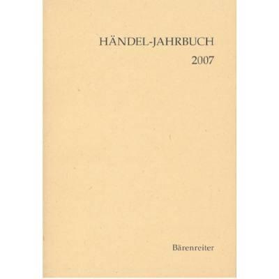 Haendel Jahrbuch 2007