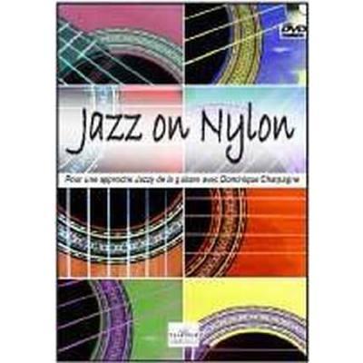 Editions Delatour France Charpagne Dominique - Jazz On Nylon Pour Guitare - broschei