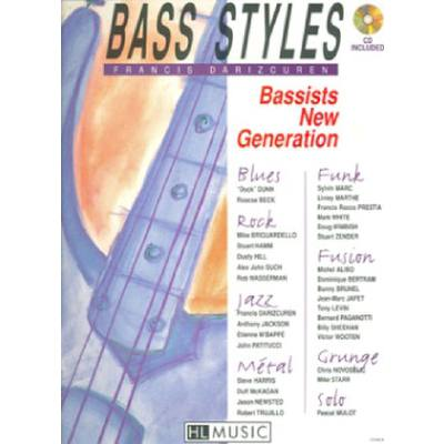 Bass styles - bassists new generation