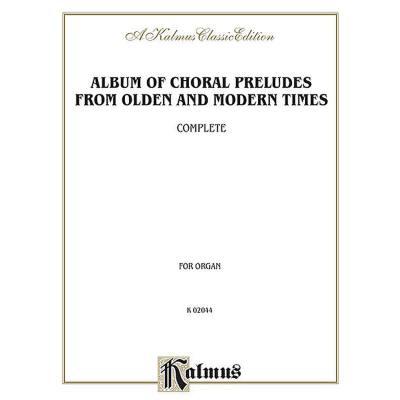 album-of-choral-preludes