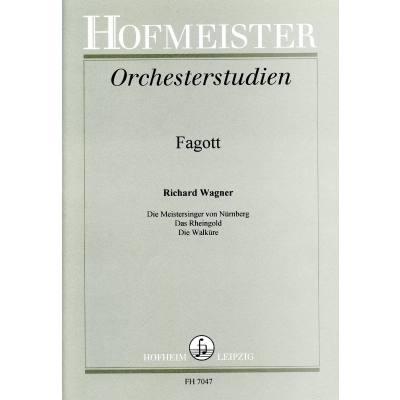 ORCHESTERSTUDIEN FAGOTT