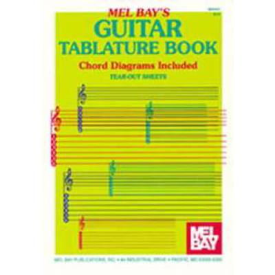 notenblock-guitar-tablature-book
