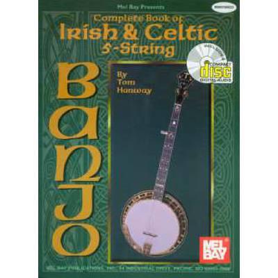 COMPLETE BOOK OF IRISH + CELTIC 5 STRING BANJO