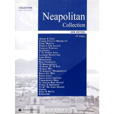 NEAPOLITAN COLLECTION - 25 SONGS