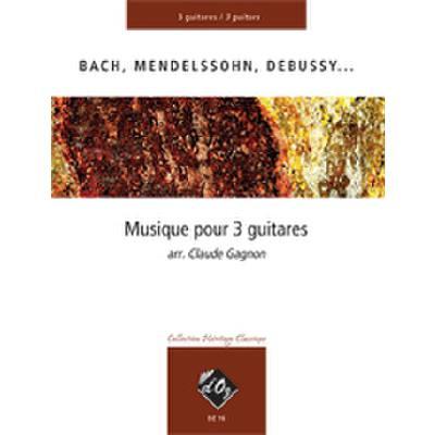 MUSIQUE POUR 3 GUITARES