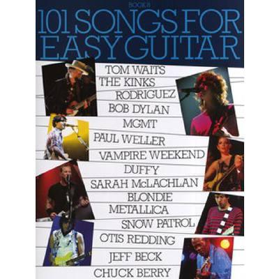 101 SONGS FOR EASY GUITAR 8