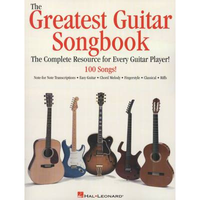 GREATEST GUITAR SONGBOOK